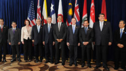 Leaders of Trans Pacific Partnership