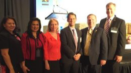 group photo of business exporting experts